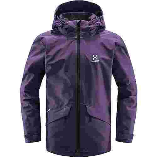 Haglöfs Mila Jacket Hardshelljacke Kinder Purple Rain