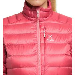 Haglöfs Roc Down Jacket Outdoorjacke Damen Tulip Pink