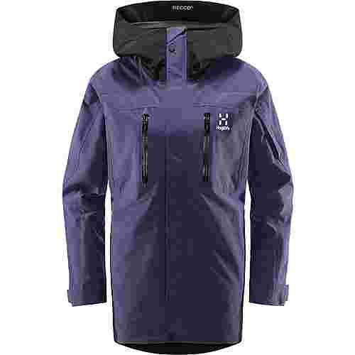 Haglöfs GORE-TEX® Elation GTX Jacket Hardshelljacke Damen Purple Rain/True Black