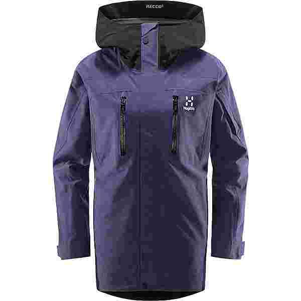 Haglöfs GORE-TEX Elation GTX Jacket Hardshelljacke Damen Purple Rain/True Black