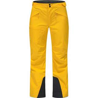 Haglöfs Lumi Form Pant Funktionshose Damen Pumpkin Yellow