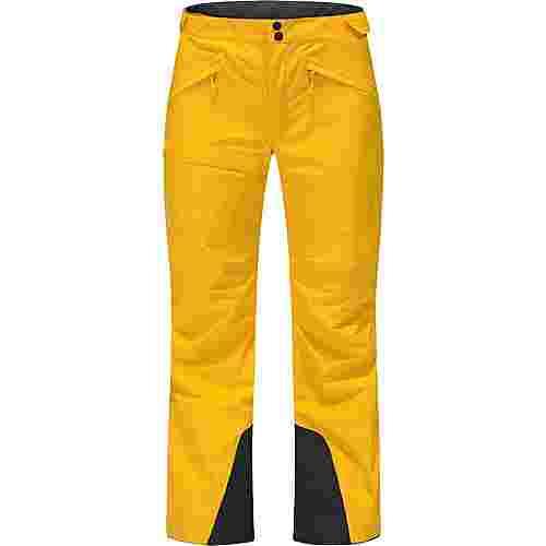 Haglöfs Lumi Form Pant Funktionshose Damen Pumpkin Yellow