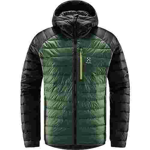 Haglöfs Spire Mimic Hood Outdoorjacke Herren Fjell Green/True Black