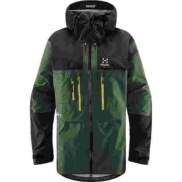 Haglöfs GORE-TEX Roc Nordic GTX Pro Jacket Hardshelljacke Herren Fjell Green/True Black