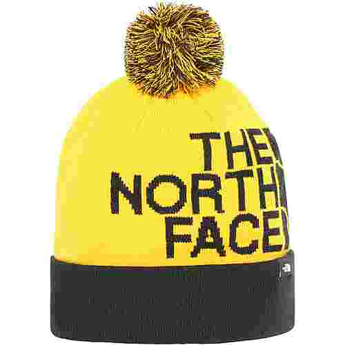 The North Face TUKE Bommelmütze summit gold/tnf black