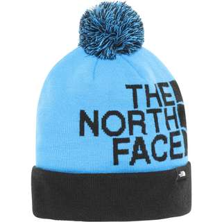 The North Face TUKE Bommelmütze clear lake blue/tnf black
