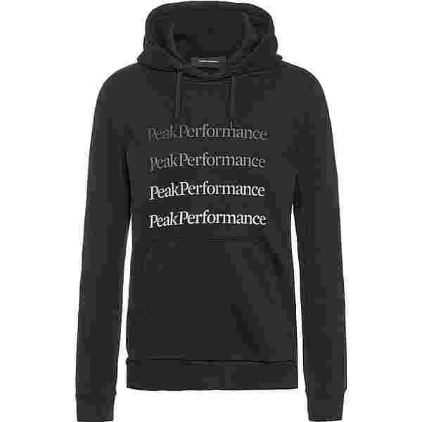 Peak Performance Ground Hoodie Herren black