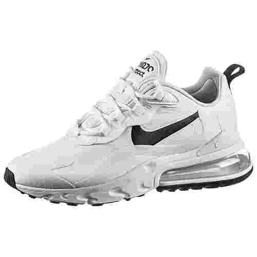 Nike Air Max 270 React Sneaker Damen white-black-metallic silver