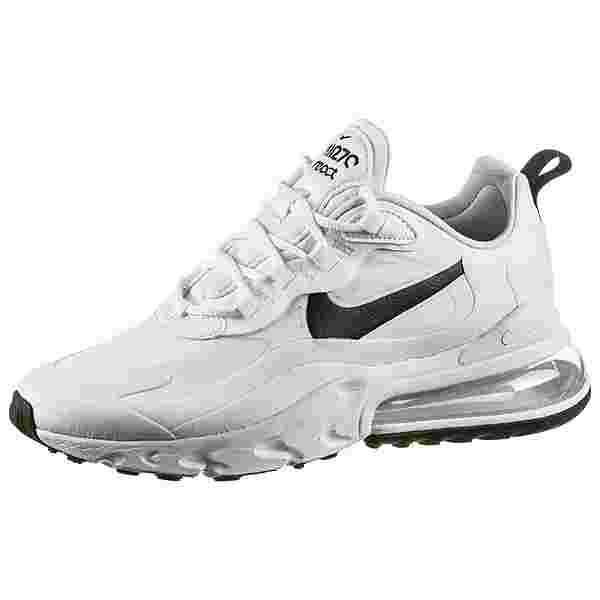 Nike Air Max 270 React Sneaker Damen white-black-metallic silver