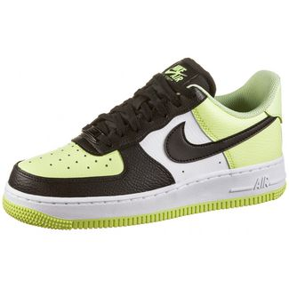Nike Air Force 1 ´07 Sneaker Damen barely volt-black-white