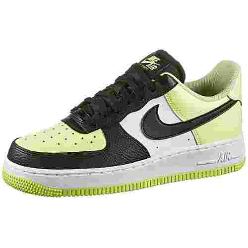 Nike Air Force 1 ´07 Sneaker Damen barely volt-black-white