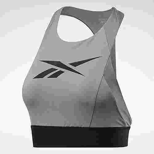 Reebok Workout Ready Low-Impact Bralette BH Damen Grau