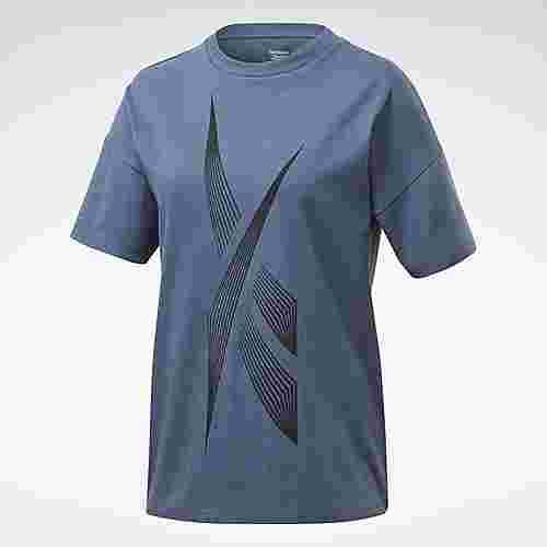 Reebok Vector Graphic T-Shirt T-Shirt Damen Blau