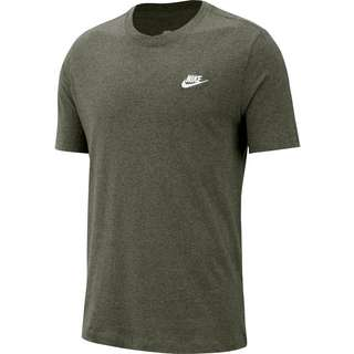 Nike NSW Club T-Shirt Herren twilight marsh-white