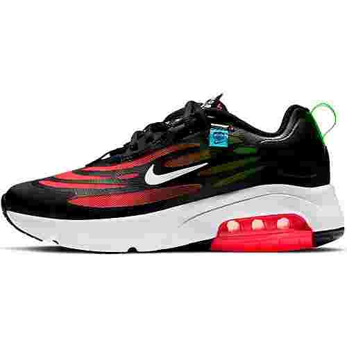 Nike Air Max Exosence Laufschuhe Kinder black-white-flash crimson-green strike