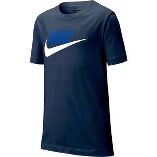 Nike Futura T-Shirt Kinder midnight navy-white