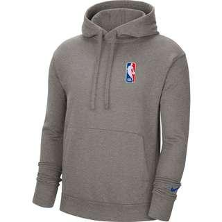 Nike N31 Hoodie Herren dark grey heather-rush blue