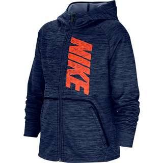 Nike Kapuzenjacke Kinder midnight navy-htr-hyper crimson