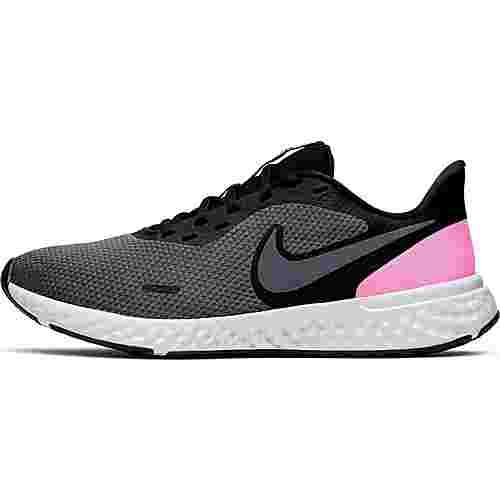 Nike Revolution 5 Laufschuhe Damen black-psychic pink-dark grey