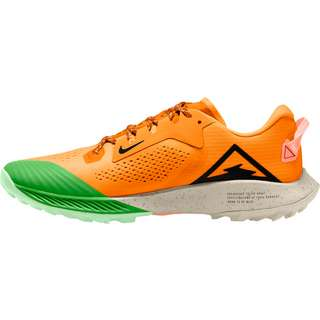 Nike Air Zoom Terra Kiger 6 Laufschuhe Herren kumquat-black-atomic pink-green spark