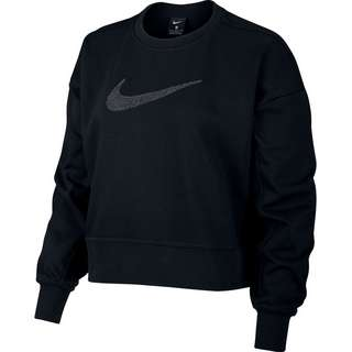 Nike Dri-FIT Get Fit Sweatshirt Damen black-dk smoke grey