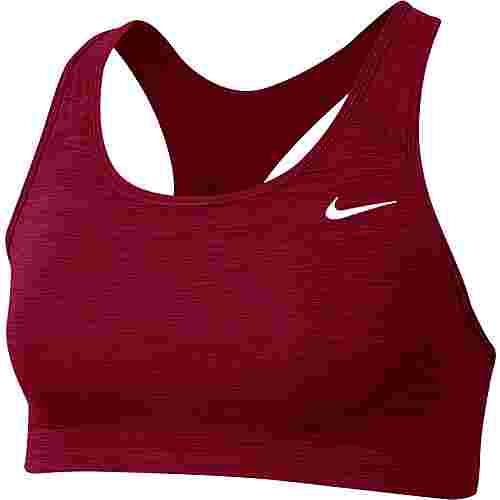 Nike Swoosh BH Damen dark beetroot-pure-white
