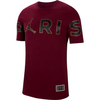 Nike Paris Saint-Germain/Jordan T-Shirt Herren bordeaux