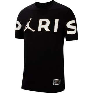 Nike Paris Saint-Germain/Jordan T-Shirt Herren black