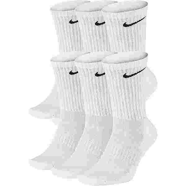 Nike Everyday Cush Vrew 6 Pack Socken Pack white-black