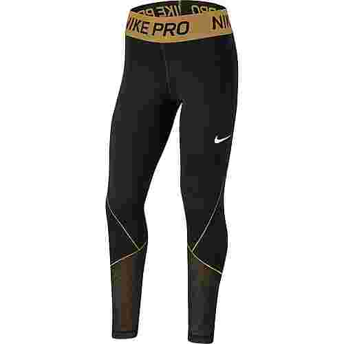 Nike Tights Kinder black-white