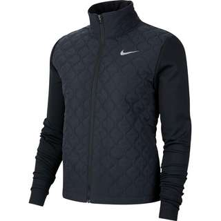 Nike AEROLAYER Laufjacke Damen black-reflective silv