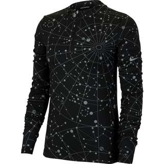 Nike Element Flash Funktionsshirt Damen black-reflective silv