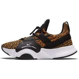 Nike SuperRep Groove Fitnessschuhe Damen white-black-chutney