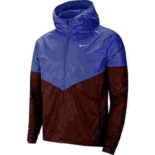 Nike Shieldrunner Laufjacke Herren astronomy blue-reflective silv