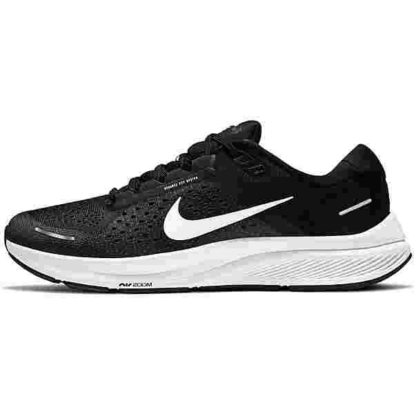 Nike Air Zoom Structure 23 Laufschuhe Herren black-white-anthracite