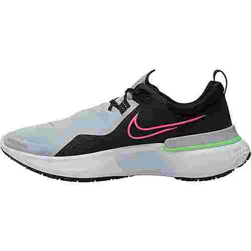 Nike React Miler Shield Laufschuhe Herren black-obsidian mist-pink blast