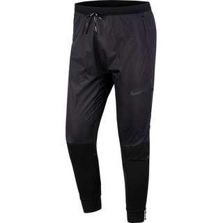 Nike Swift Shield Laufhose Herren black-reflect black