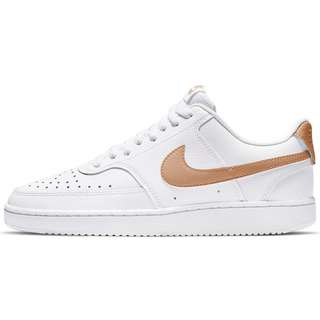 Nike Court Vision Sneaker Damen white-metallic copper