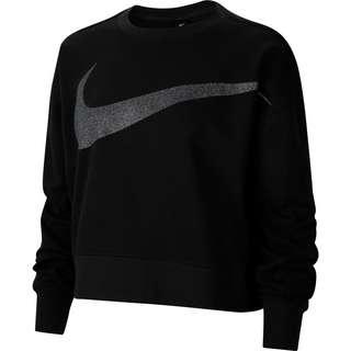 Nike DY GET FIT FC C PP1 SPRKL Sweatshirt Damen black-dk smoke grey