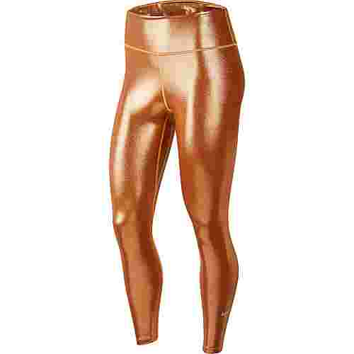 Nike One Tights Damen gold-tawny-gold