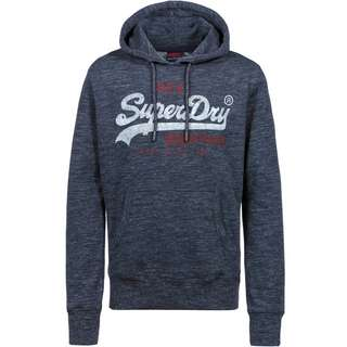 Superdry Hoodie Herren midnight navy space dye