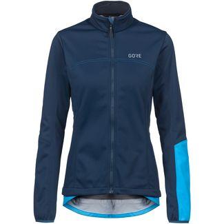 GORE® WEAR GORE-TEX® C5 WINDSTOPPER Thermo Jacke Fahrradjacke Damen orbit blue-dynamic cyan