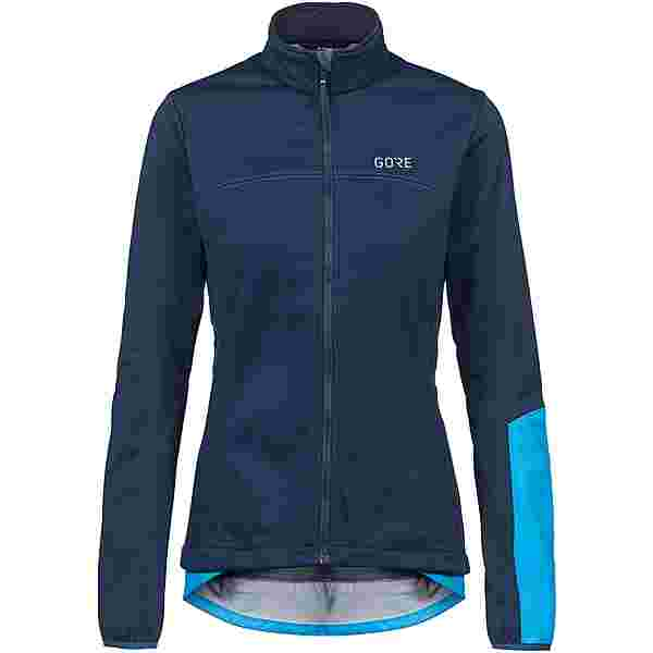 GORE® WEAR GORE-TEX C5 WINDSTOPPER Thermo Jacke Fahrradjacke Damen orbit blue-dynamic cyan