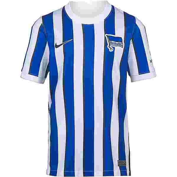 Nike Hertha BSC 20-21 Heim Trikot Kinder white-black