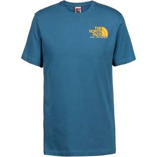 The North Face GRAPHIC T-Shirt Herren mallard blue