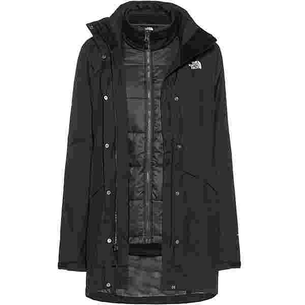The North Face ARASHI II TRICLIMATE Doppeljacke Damen tnf black/tnf white