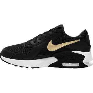 Nike Air Max Excee Sneaker Kinder black-mtlc gold star-white