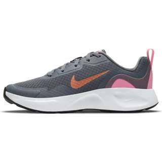 Nike WearAllDay Sneaker Kinder smoke grey-metallic copper-pink glow