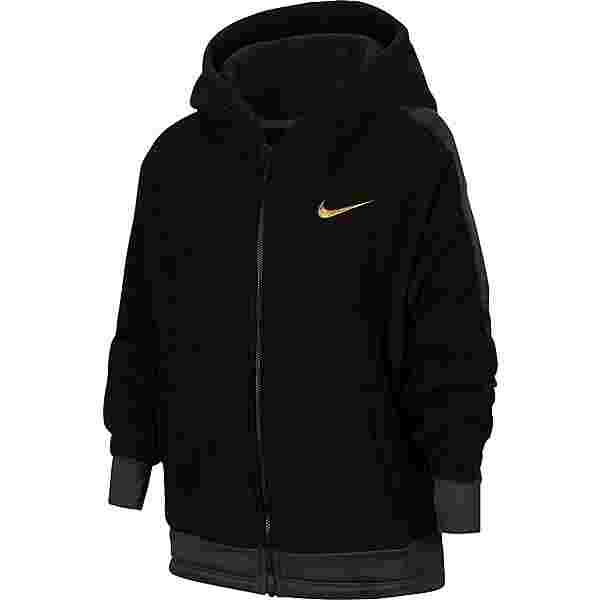 Nike Kapuzenjacke Kinder black-dk smoke grey