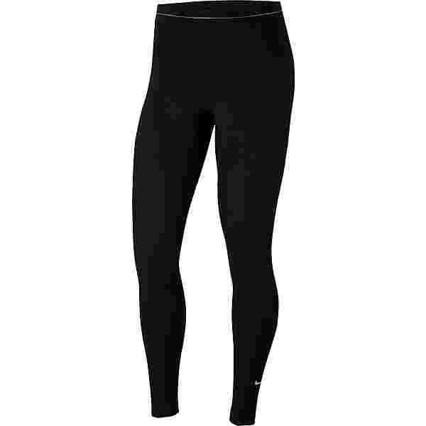 Nike Pro Warm Tights Damen black-metallic gold